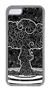 iPhone 5C Case,Graphics Tree Art TPU Custom iPhone 5C Case Cover Transparent
