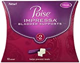 Health & Personal Care : Poise Impressa Bladder Supports, Size 2, 1 Pack of 10 Count.