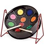 "Tabletop Mini C Pan Drum, Steel - Black - 11-1/2"" diam."