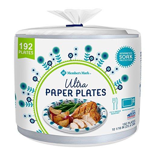 Member's Mark Ultra Paper Plate - 10 1/16