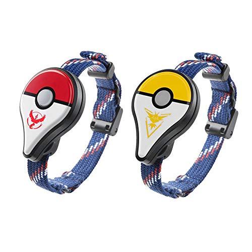 Diamondo 2pcs For Pokemon GO Plus Bluetooth Bracelet for Nintendo Interactive -