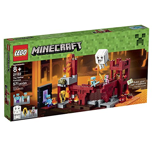 LEGO Minecraft 21122 the Nether Fortress Building …