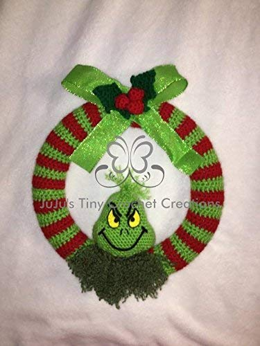 Amazon Grinch Wreath Christmas Holiday Wreath Inspired By Dr