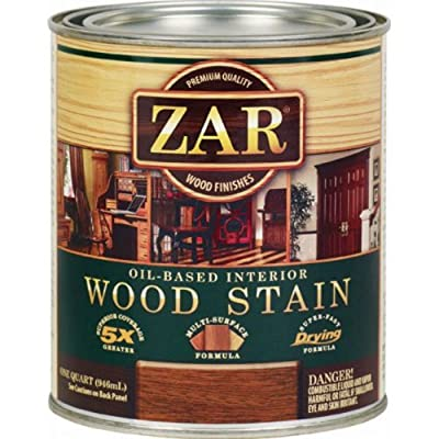 ZAR 12912 Wood Stain, Aged Varnish/Amber