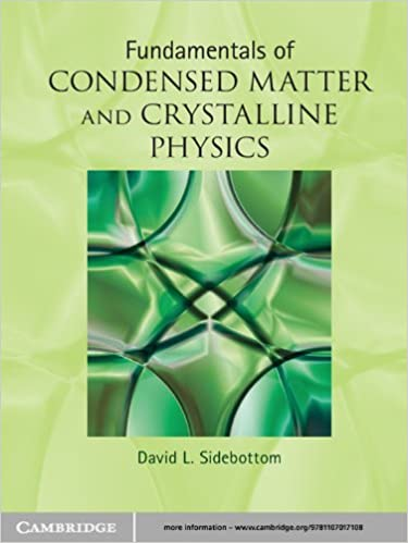Fundamentals Of Condensed Matter And Crystalline Physics Download.zip