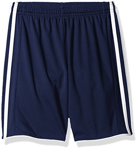 Adidas Youth Soccer Tastigo Shorts, Dark Blue/White - Medium