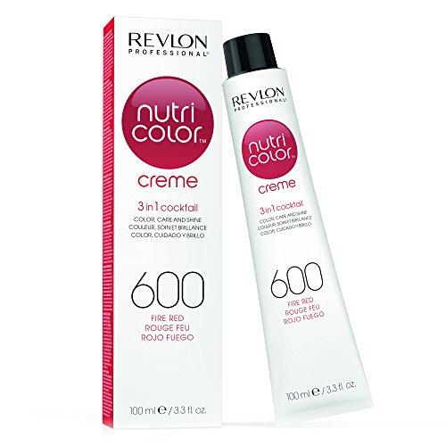 🥇 Revlon Nutri Color Creme Tinte Tono 600 Fire Red – 100 ml