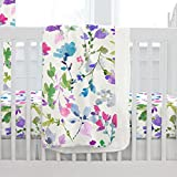 Carousel Designs Wildflower Garden Crib Blanket