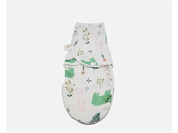 Bebé Recién Nacido Bebé Swaddle Verano Sección Delgada Sleeping Wrap Blanket Adecuado para 0-6 Meses Saco de dormir de invierno: Amazon.es: Bebé