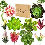 Ciaoed-Artificial-Succulent-Plants12-Pcs-Succulants-Artificial-Assorted-Blue-Unpotted-Large-Fake-Succulents-Plant-Faux-Succulent-Assorted-for-Flower-Arrangements-Decor-and-Home-Decoration
