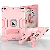 iPad Mini 3 Case - iPad Mini 2 Case - iPad Mini Case - Daker Slim Bumper Smart Case Stand Waterproof Dirtproof Shockproof for Apple iPad Mini 1 2 3 Colorful Clear Back Cover Lightweight (Rose Gold)
