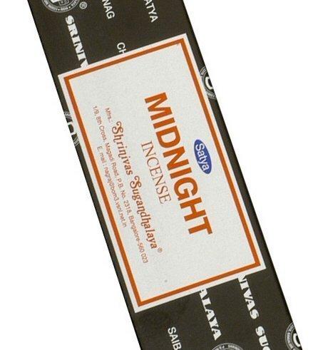 Midnight - 100 Gram Box - Satya Sai Baba Incense