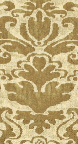 Hand Towels or Paper Guest Towels Party Supplies Palazzo Ivory Pack of 30 ()