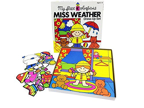 My First Colorforms Weather Dress product image