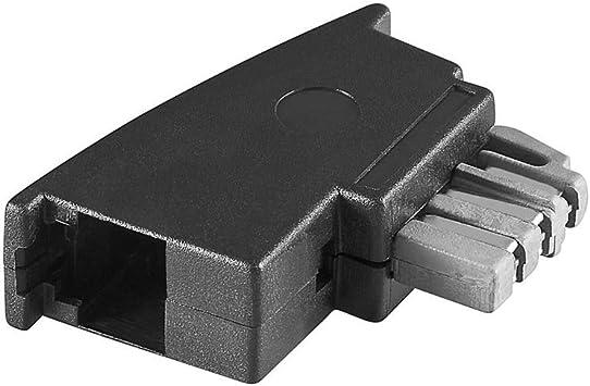 Goobay 50308 Tae Adapter Tae N Stecker Rj11 Elektronik