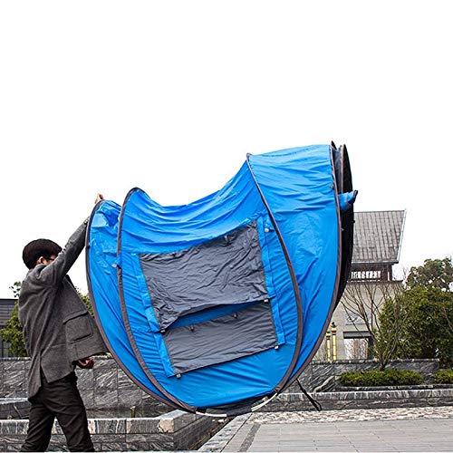 Gfpql Tente de Camping extérieure légère pour Trois Personnes, à l'épreuve du Vent, imperméable aux intempéries, aux moustiques, matériaux Plus épais et Plus durables, sièges Profession
