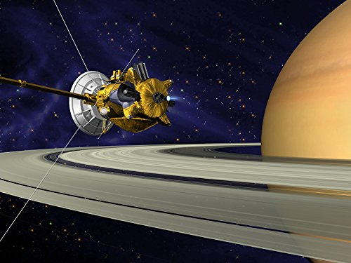 Cassini And The Crown Jewel