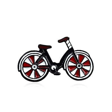 Amazon.com: ink2055 Cartoon Enamel Bicycle Badge Collar ...