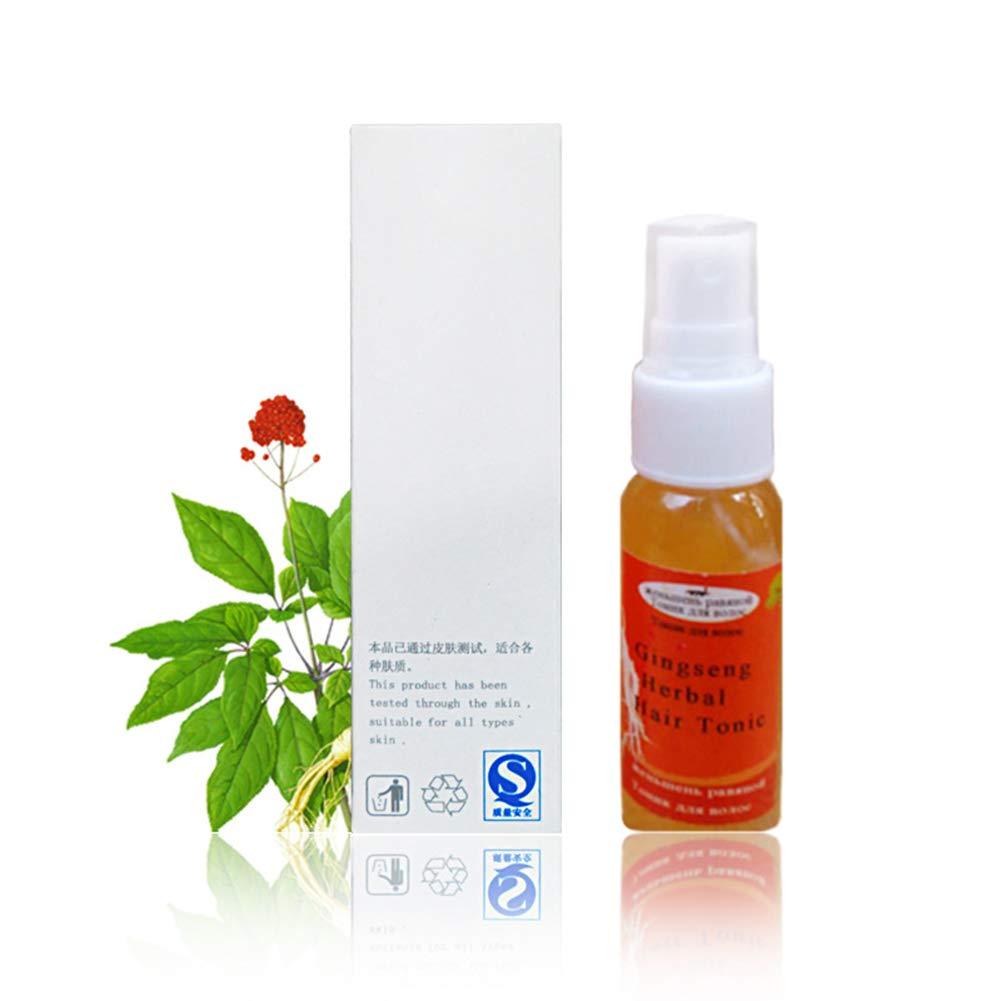 Hair Essence gLoaSublim,Ginseng Herbal Healthy Strong Strength Shiny Growth Hair Treatment Liquid Tonic