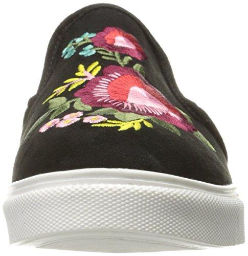 Steve Madden Women Eletta Fashion Sneaker In Camoscio Nero