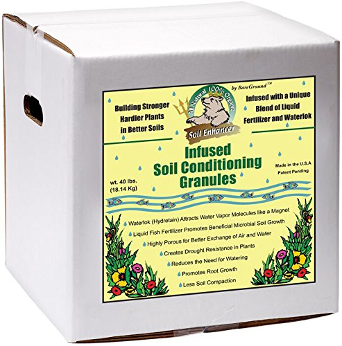 Just Scentsational TP-15BX Trident's Pride Liquid Fish Infused Soil Conditioning Granules, 15 lbs (Emulsion Conditioning)