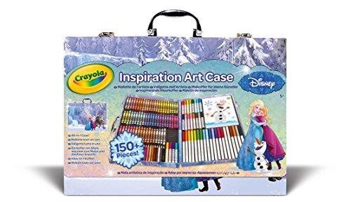 Crayola set de material escolar frozen for Aerografo crayola amazon