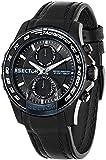 Sector - R3251577003 - S-99 - Montre Homme - Quartz Chronographe - Cadran Noir - Bracelet Cuir Noir