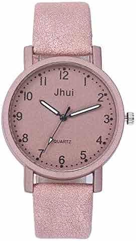 4d129b38b59 Gibobby Women Watches, Minimalist Luxury Quartz Wristwatch Chronograph Watch  Classic New Strap Buckle