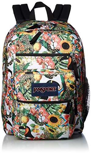 Free Backpack Student Big Spirit White JanSport Multicolore Black qwzXfxW7