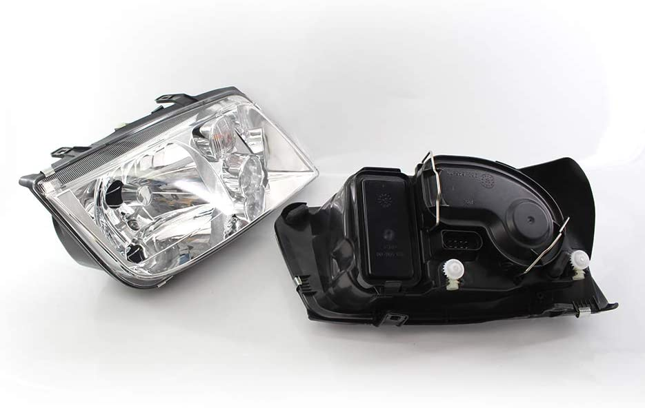 Avant Chrome clair automobile avant de voiture Light Assembly Auto lampe frontale