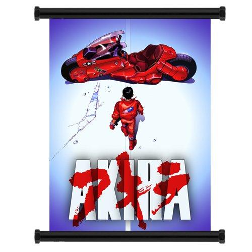 Akira Movie Anime Fabric Wall Scroll Poster