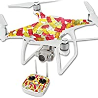 Skin For DJI Phantom 4 Quadcopter Drone – Gummy Bears | MightySkins Protective, Durable, and Unique Vinyl Decal wrap cover | Easy To Apply, Remove, and Change Styles | Made in the USA