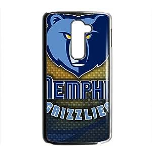 KKDTT memphis grizzlies logo Hot sale Phone Case for LG G2 Black