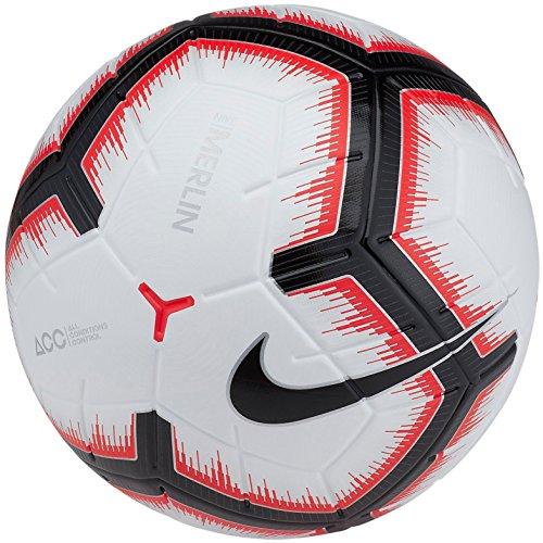 Nike Mens NK MERLIN SC3303-100_5 - WHITE/BRIGHT CRIMSON/BLACK/BLACK