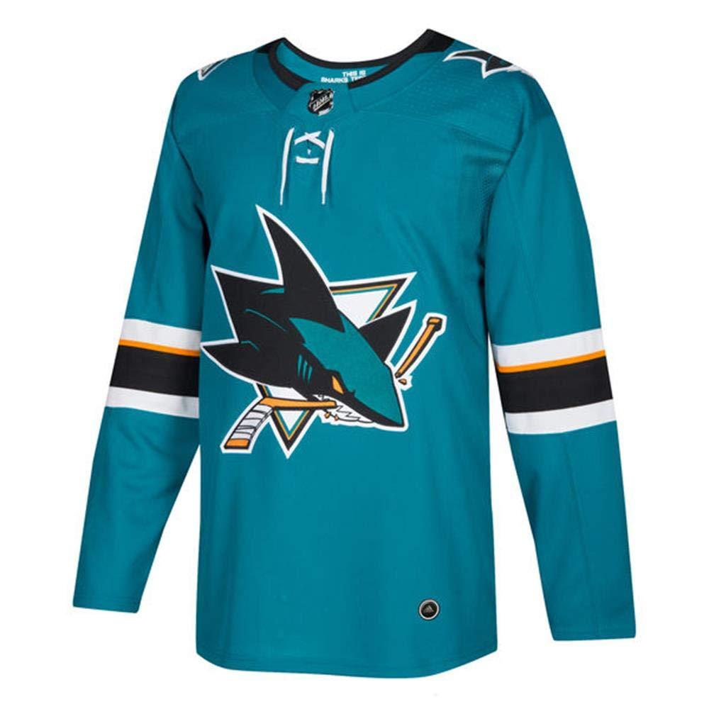 more photos 2e527 02056 adidas San Jose Sharks NHL Men's Climalite Authentic Team Hockey Jersey