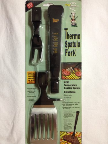 TRUCOOK Thermo Spatula / Fork Digital Meat Thermometer