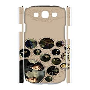 SUPCAS Sherlock Poster series For Samsung Galaxy S3 I9300 Csaes phone Case THQ137625