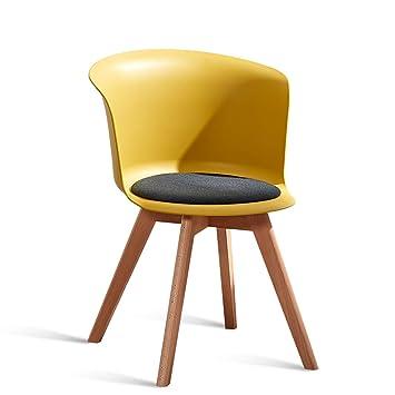 LRW Sillas de Comedor de Estilo Europeo, sillas Modernas, taburetes ...