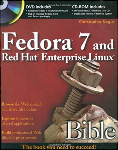 Fedora 7 and Red Hat Enterprise Linux Bible  Christopher Negus ... ed0ace853f85