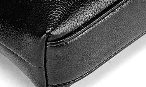 Paquete La Caja La Cuero Bolso Capacidad La Del Bolso Manera De De Ocasional De Del De Hombro De Gran De Oblicua Hombro Manera Del Brown La PUqwRZa