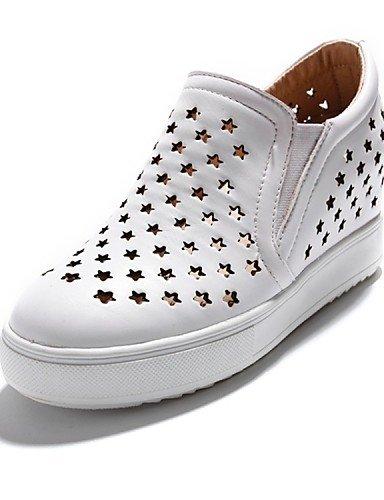 White Laboral Black Gyht Zq Redonda Uk6 tacón Deporte Zapatos negro Eu35 semicuero Plano Mujer punta Eu39 us5 Cn34 exterior Cn39 mocasines us8 Blanco Casual Rojo De Uk3 7wdBTqw