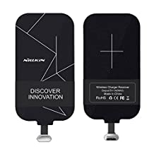 [Short Version] Type C Connector Qi Wireless Charging Receiver, SANMIN USB C Qi Wireless Charging Receiver Patch Module for Google Pixel/Pixel XL, OnePlus 3/3T, LG V20/G5 and Other USB C Devices