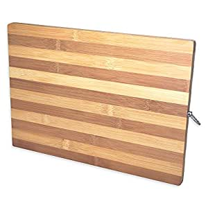 Amazon Com Natural Bamboo Wood Cutting Board 10 Quot X 14