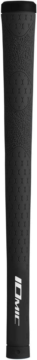 Iomic IXX 2.3ゴルフグリップバンドル( 13個) ブラック
