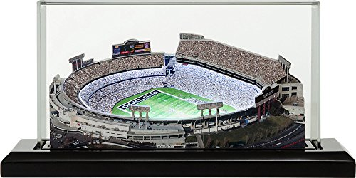 Oakland Raiders Alamada County Coliseum, Small Lighted in Display Case
