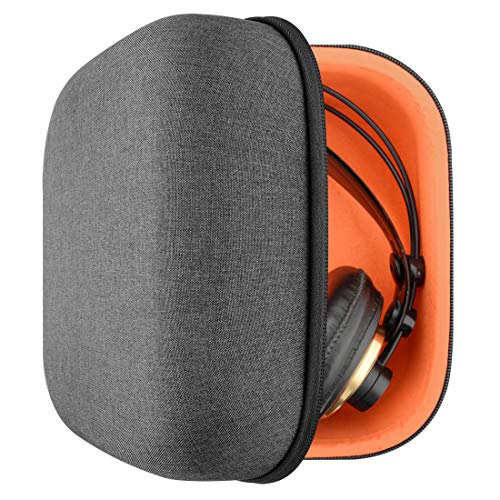 Geekria UltraShell Headphone Case for AKG K340, K240, K242, K271, K272, K141, K142, K121, Headphones and More, Full Size Hard Shell Large Carrying Case, Headset Travel Bag with Room for Accessories