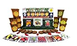 Windowsill Pepper Garden Kit, Pepper Planter Comes Complete with a 10 Variety Non GMO Heirloom Pepper Seed Collection & Pepper Pots