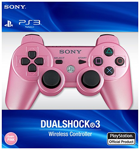 (PlayStation 3 Dualshock 3 Wireless Controller (Candy Pink))