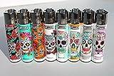 Bundle - 8 Items - Clipper Lighter Sugar Skulls