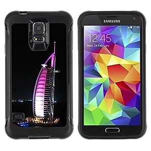 Paccase / Suave TPU GEL Caso Carcasa de Protección Funda para - Burj Dubai - Samsung Galaxy S5 SM-G900